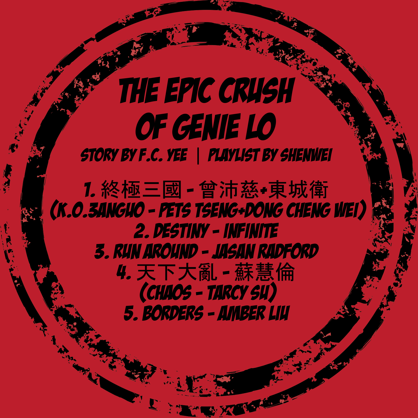 The Epic Crush of Genie Lo album tracks
