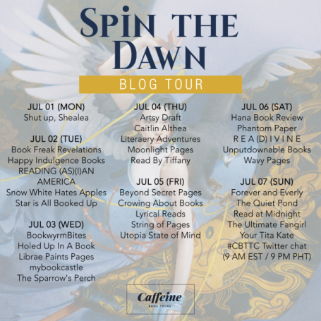 Tour Schedule (Spin the Dawn)