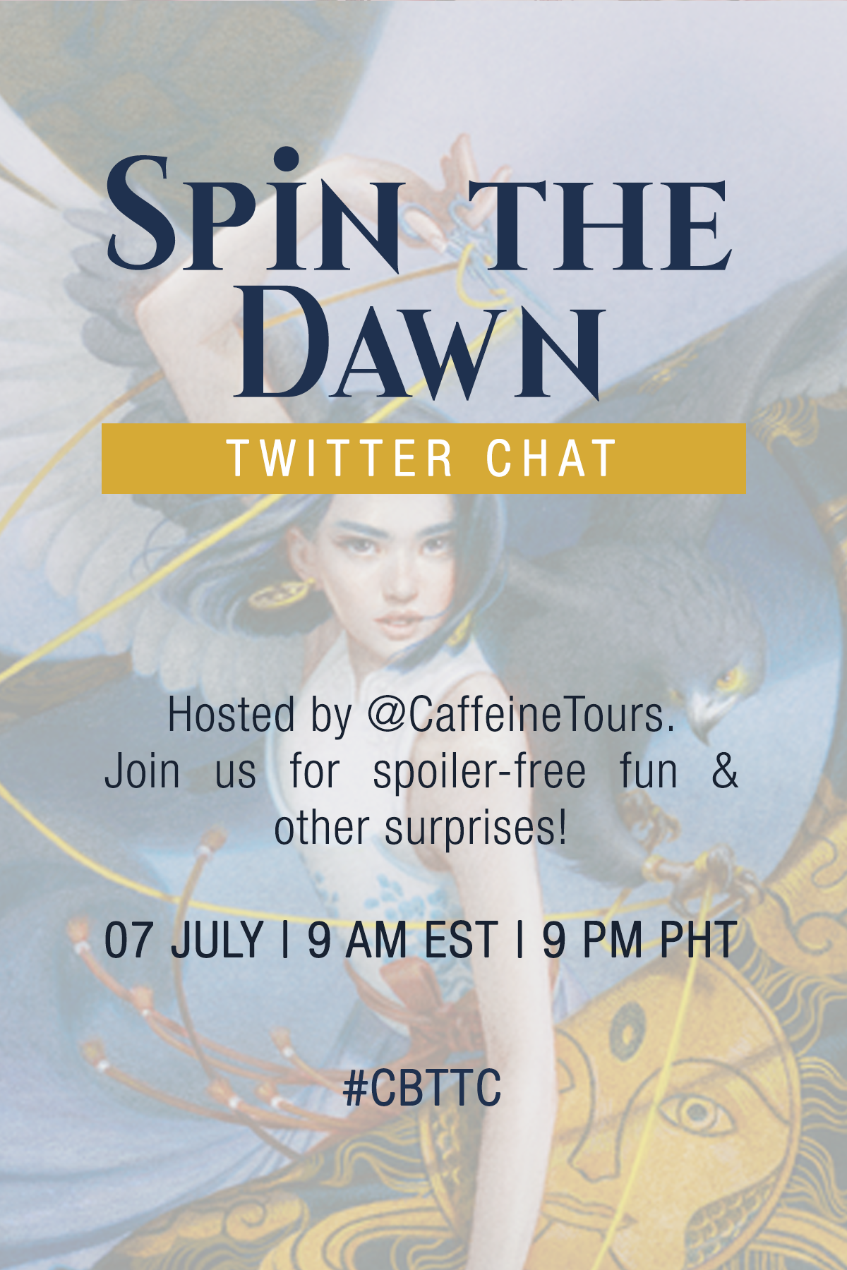 Twitter Chat Invite (Spin the Dawn)